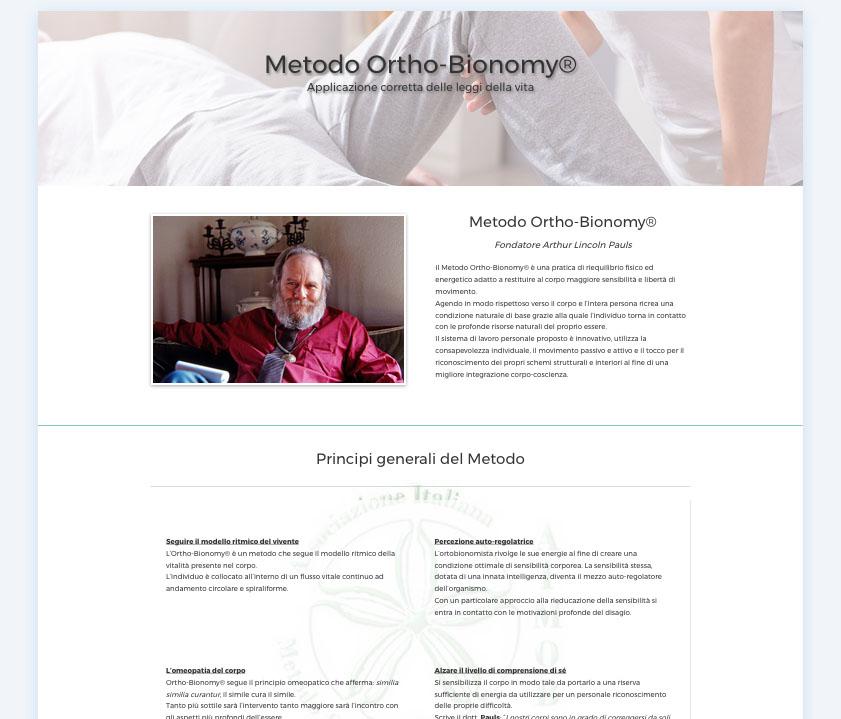 il metodo ortho bionomy aimob italia