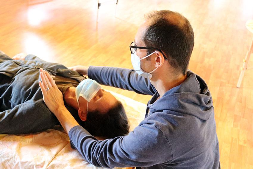 come funziona una seduta ortho bionomy