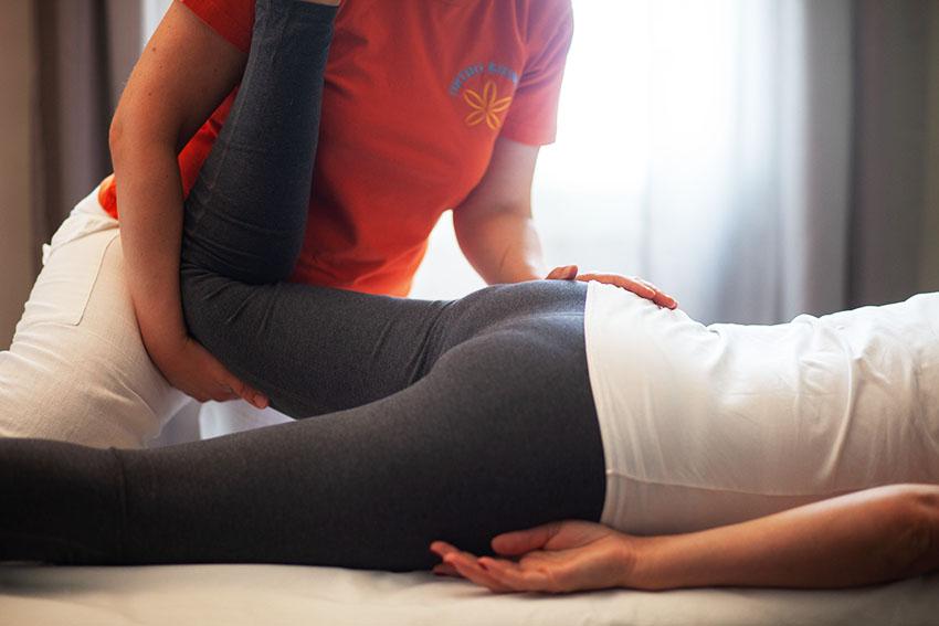 seduta trattamento ortho bionomy